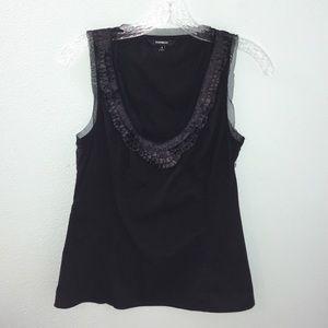 ⭐️3 for $15⭐️ Express Black Sleeveless Blouse